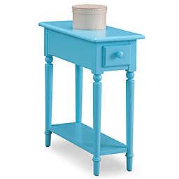 Leick Home Coastal Narrow Chairside Table