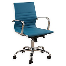 Abbyson Living Daniel Silver Frame Office Chair