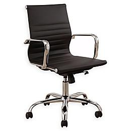 Abbyson Living Daniel Silver Frame Office Chair