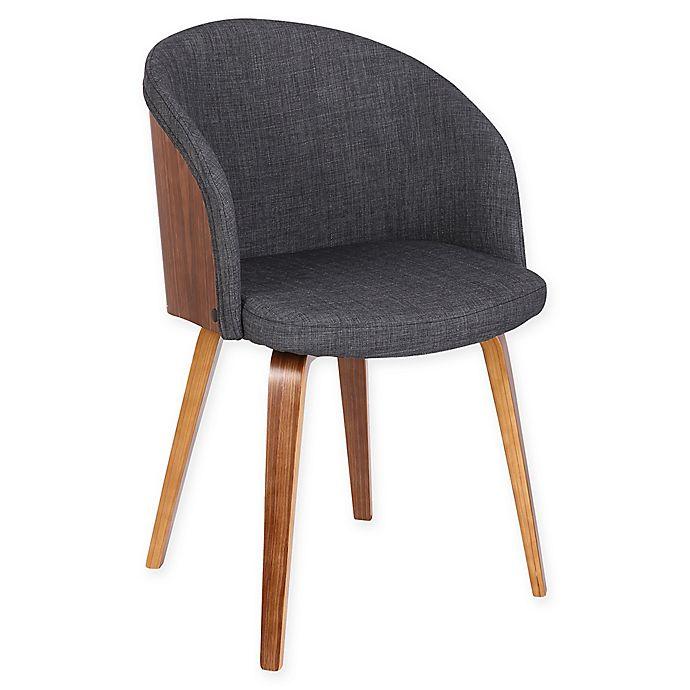 Astounding Armen Living Alpine Wood Upholstered Dining Chair Bed Bath Short Links Chair Design For Home Short Linksinfo
