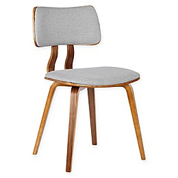 Armen Living Jaguar Wood Upholstered Dining Chair