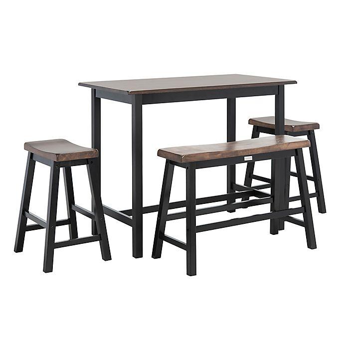 Alternate image 1 for Safavieh Ronin 4-Piece Pub Table Set