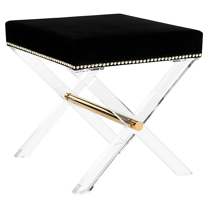 Alternate image 1 for Couture Jezebel Bench in Black