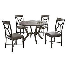 Steve Silver Co. Alamo 5-Piece Dining Set in Grey