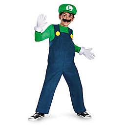 Super Mario Bros: Luigi Deluxe Child's Halloween Costume