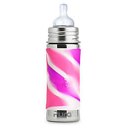 Pura Kiki® 11 oz. Stainless Steel Infant Bottle with Medium-Flow Nipple in Pink