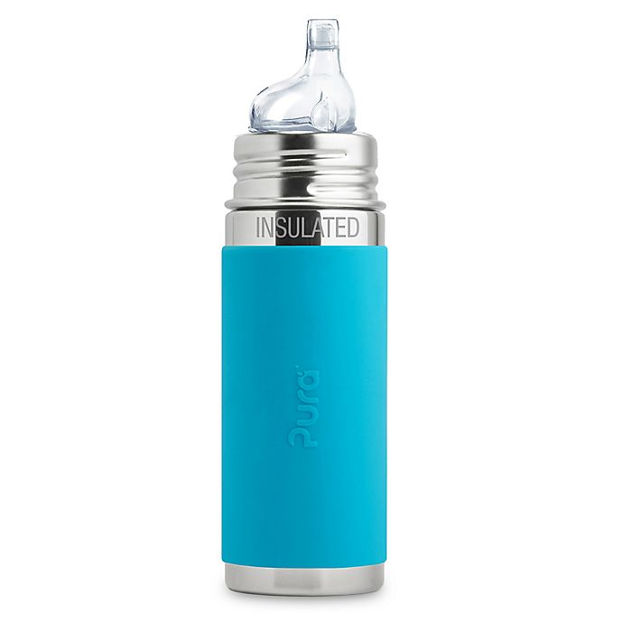 Alternate image 1 for Pura Kiki® 9 oz. Vacuum Insulated Toddler Sippy Bottle with XL Sipper Spout