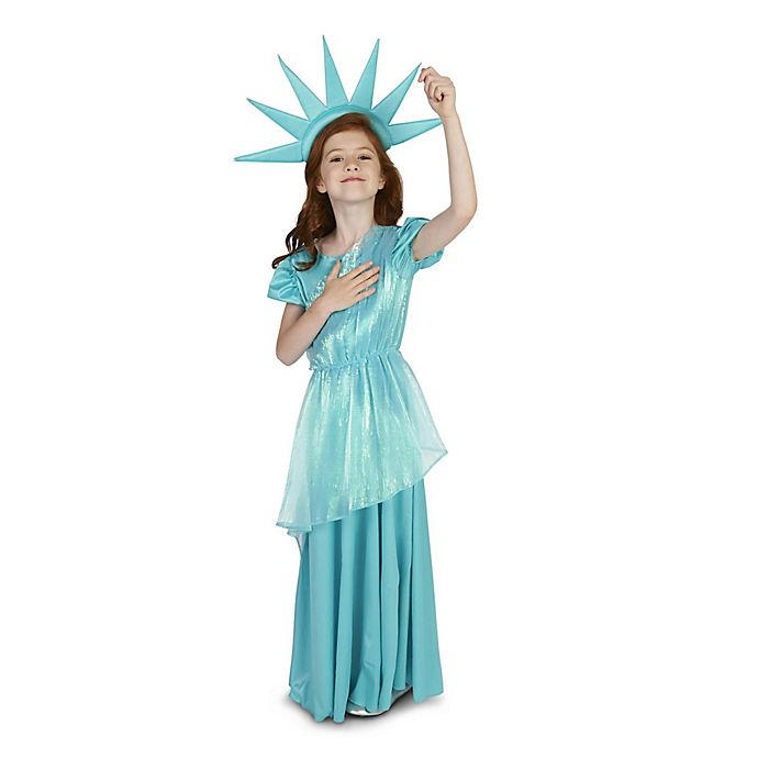 Alternate image 1 for Statue of Liberty Child's Halloween Costume