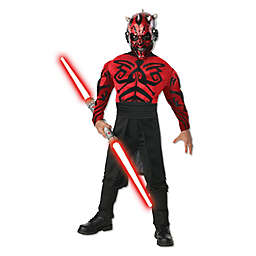 Star Wars: Deluxe Muscle Chest Darth Maul Child's Halloween Costume