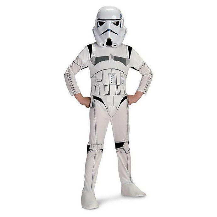Alternate image 1 for Star Wars: Storm Trooper Large Child's Halloween Costume