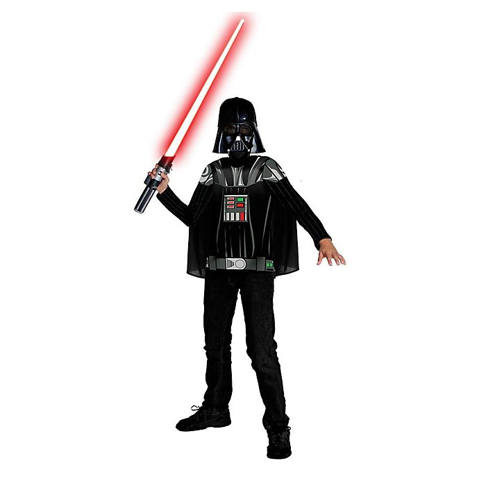 Alternate image 1 for Star Wars: Darth Vader Kit Medium Child's Halloween Costume