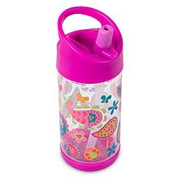 Stephen Joseph® 10 oz. Paisley Garden Flip-Top Water Bottle