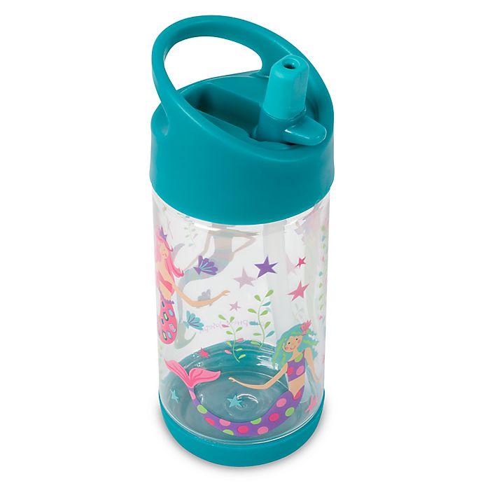 Alternate image 1 for Stephen Joseph® 10 oz. Mermaid Flip-Top Water Bottle