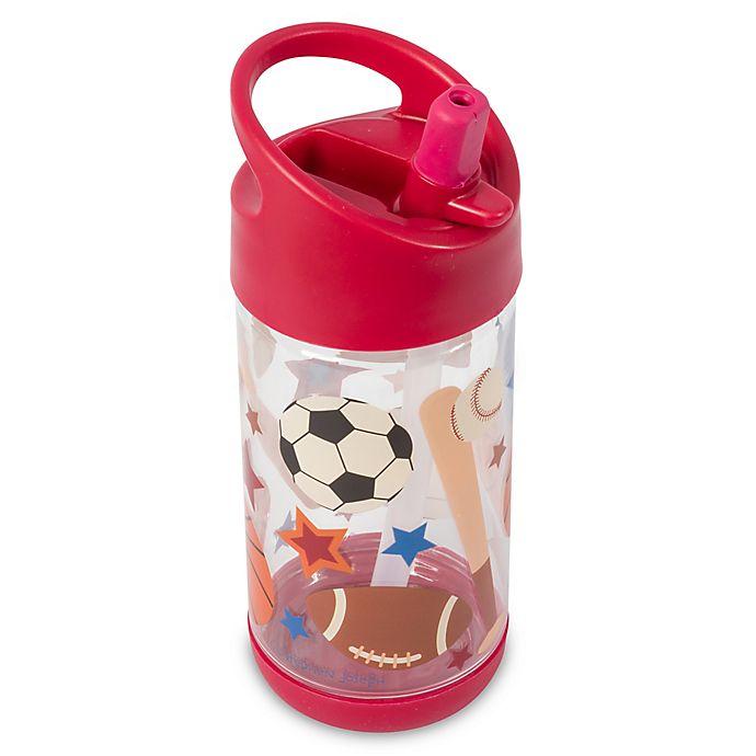 Alternate image 1 for Stephen Joseph® 10 oz. Sports Flip-Top Water Bottle