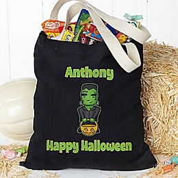 Halloween Characters Treat Tote Bag