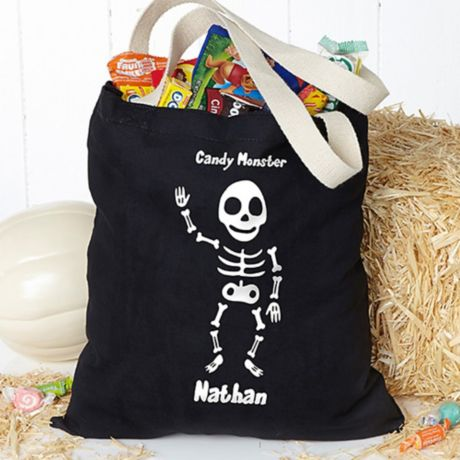 Scaredy Cat Halloween Purse Hanger and Pouch