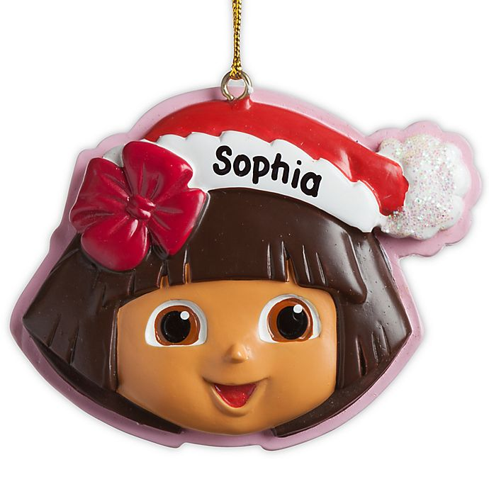 Alternate image 1 for Dora the Explorer™ Christmas Ornament