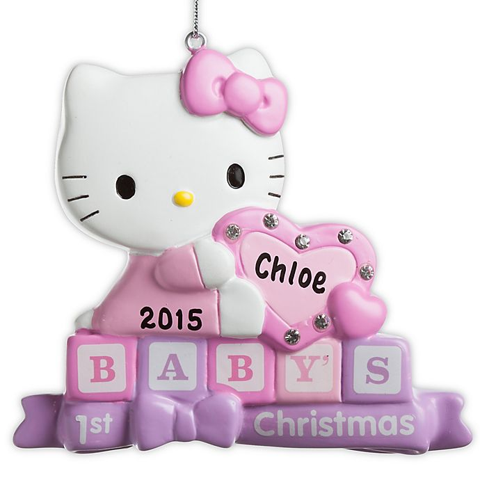 Hello Kitty Baby S 1st Christmas Ornament Bed Bath Beyond
