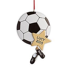 Soccer Star Christmas Ornament