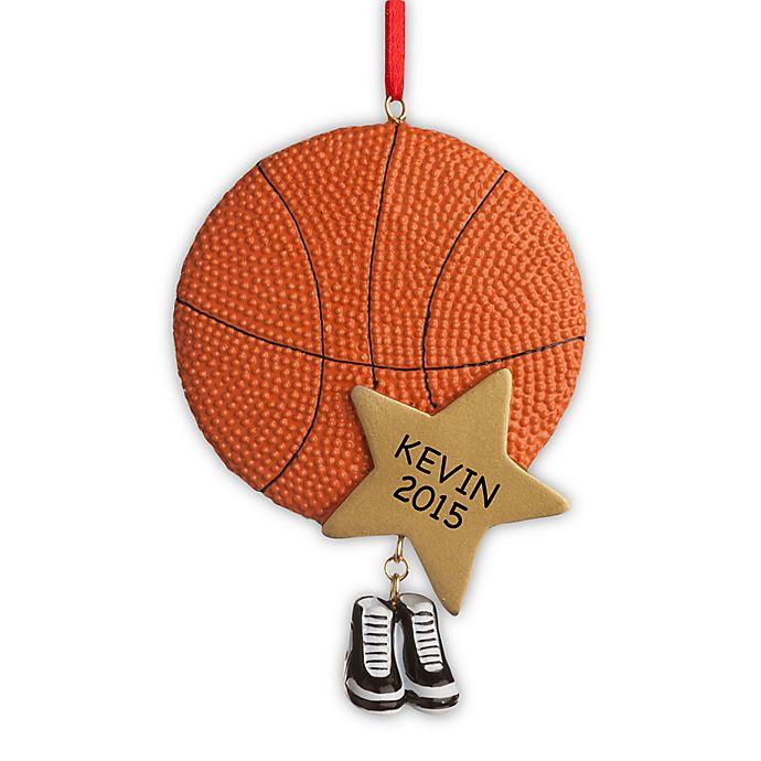 Alternate image 1 for Basketball Star Christmas Ornament