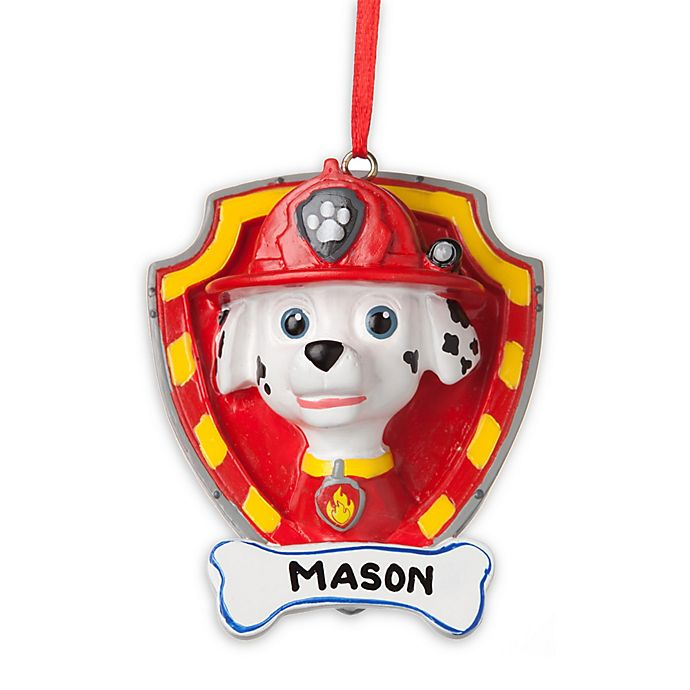 Alternate image 1 for PAW Patrol Best Pup Pals Marshall Christmas Ornament