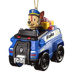 PAW Patrol Best Pup Pals Chase's Truck Christmas Ornament