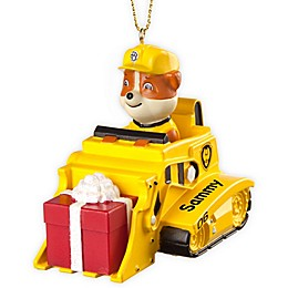 PAW Patrol Best Pup Pals Rubble's Truck Christmas Ornament