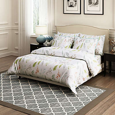 Brielle Gardenia Duvet Cover Set