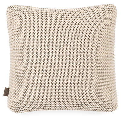 UGG® Pebble Knit Throw Pillow in Cream