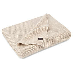 UGG® Oversized Pebble Knit Throw Blanket in Cream