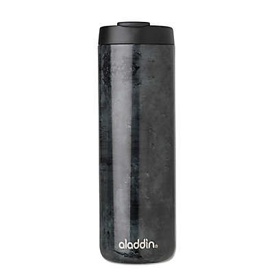 Aladdin 16 oz. Vacuum Insulated Stainless Steel Car Mug in Black