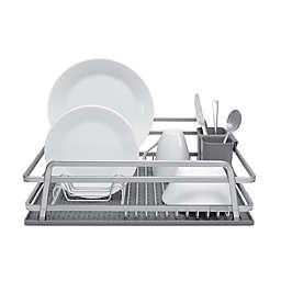Jascor Housewares Tada Aluminum Dish Rack with DrySmart Mat
