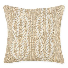 Liora Manne Ropes Indoor/Outdoor Square Throw Pillow