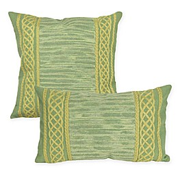 Liora Maine Celtic Stripe Indoor/Outdoor Throw Pillow