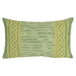 Liora Maine Celtic Stripe Indoor/Outdoor Throw Pillow
