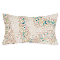 Liora Manne Elements Indoor/Outdoor Oblong Throw Pillow in Blue