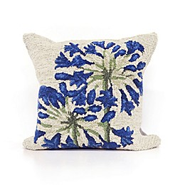 Liora Manne Desert Lily Square Throw Pillow in Natural