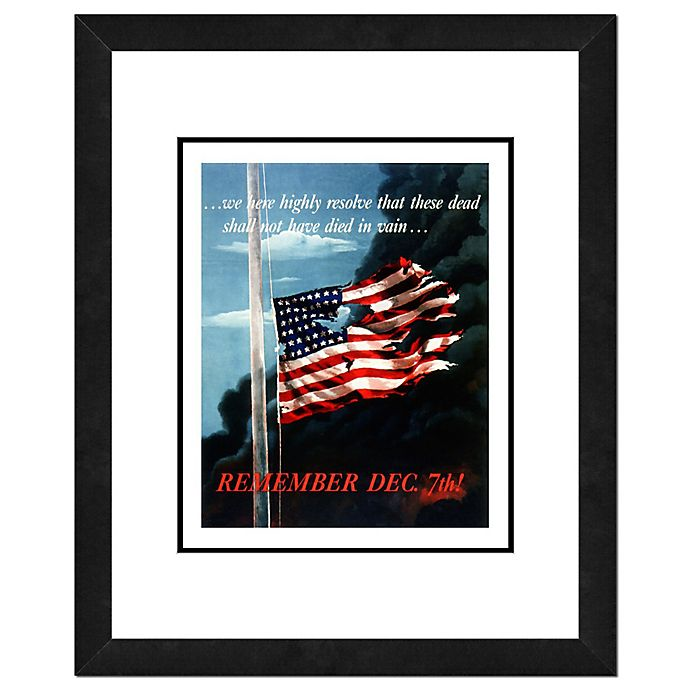 Pearl Harbor 18 Inch X 22 Inch Photo Framed Wall Art Bed Bath And