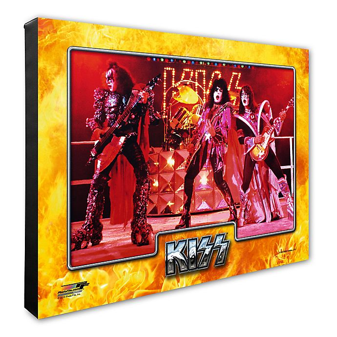 Alternate image 1 for Photo File Kiss 20-Inch x 24-Inch Photo Canvas Wall Art