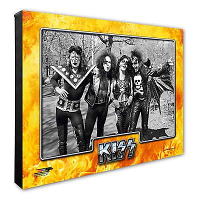 Photo File Kiss II 16-Inch x 20-Inch Photo Canvas Wall Art
