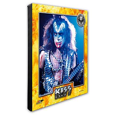 Photo File Kiss/Gene Simmons 16-Inch x 20-Inch Photo Canvas Wall Art