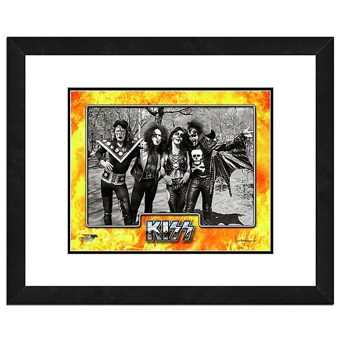 Alternate image 1 for Photo File Kiss II 22-Inch x 26-Inch Framed Photo Wall Art