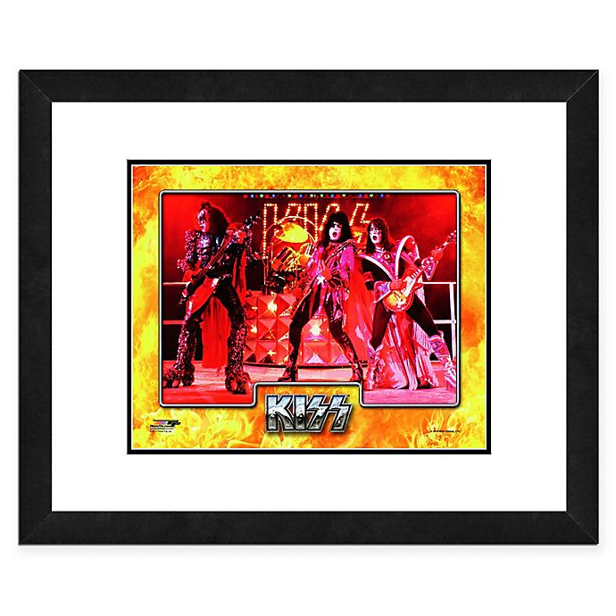 Alternate image 1 for Photo File Kiss 18-Inch x 22-Inch Framed Photo Wall Art