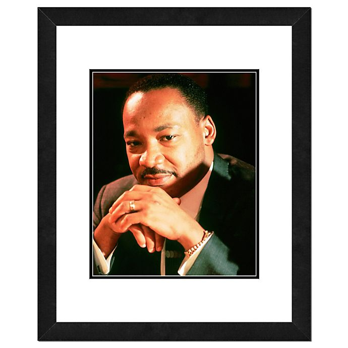 Alternate image 1 for Martin Luther King Jr.22-Inch x 26-Inch Framed Wall Art