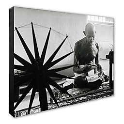 Photo File Mohandas Gandhi 16-Inch x 20-Inch Photo Canvas Wall Art