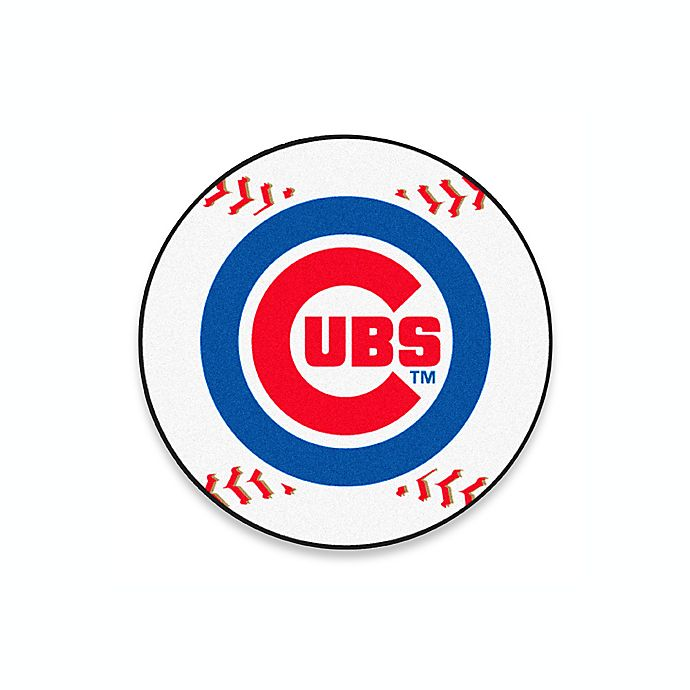 Alternate image 1 for Cubs 2-Foot 3-Inch Accent Rug