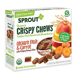 Sprout® 3.15-Ounce Box Crispy Fruit & Veggie Chews in Orange Fruit & Carrot