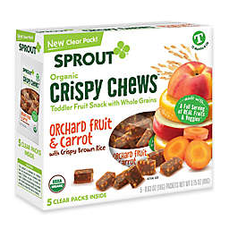 Sprout® 3.15-Ounce Box Crispy Fruit & Veggie Chews in Orange Fruit & Carrot