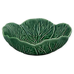 Bordallo Pinheiro Cabbage 6-Inch Bowls in Green (Set of 4)