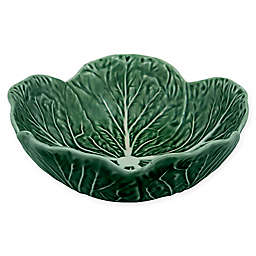 Bordallo Pinheiro Cabbage Cereal Bowls in Green (Set of 4)